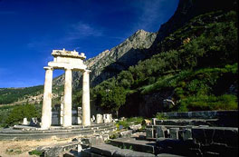 ancient greece - delphi tholos